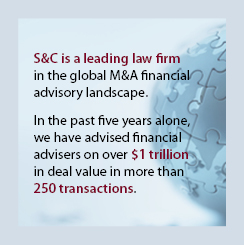 M&A Financial Advisory Leading Law Firm