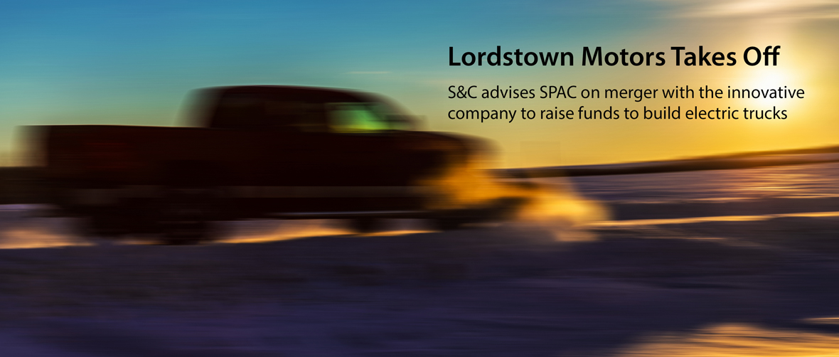 Lordstown Motors Takes Off
